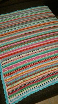 Bildergalerie der Crochet Along Babydecken