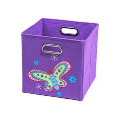 Butterfly Folding Toy Storage Bin