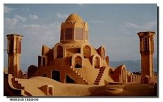 Persian Architecture - Brojerdian Historical Compelex in Kashan City