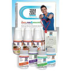 The Yes You Can! Diet Plan Starter Kit:   - 30 Botellitas de Batidos de Proteína    - 30 Tabletas de Quemador de Grasa, Colágeno, Inhibidor de Apetito y Limpiador de Colon    http://www.YesYouCanDietPlan.com