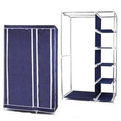 $16.08 (Buy here: https://alitems.com/g/1e8d114494ebda23ff8b16525dc3e8/?i=5&ulp=https%3A%2F%2Fwww.aliexpress.com%2Fitem%2FHot-saleFoldable-Double-Canvas-Wardrobe-Storage-Cupboard-Shelves-Dark-Blue%2F32734748602.html ) Hot saleFoldable Double Canvas Wardrobe Storage Cupboard Shelves - Dark Blue for just $16.08