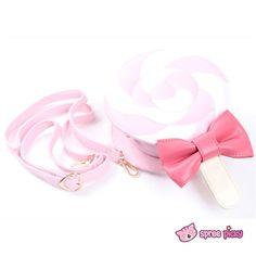 2 Colors Lolita Harajuku Lollipop Candy Bag Cross-body Bag SP140437 - SpreePicky - 3