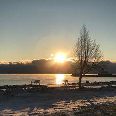 Morning on the Great Lakes. #lakelife #mornings #sunrise #peace #nature