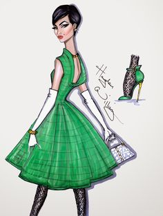 Hayden Williams Fashion Illustrations: 'A New Classic' by Hayden Williams