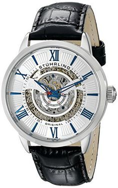 Stuhrling Original Men's 696.01 Legacy Skeleton Watch with Stuhrling Original http://www.amazon.com/dp/B00R6RSN0E/ref=cm_sw_r_pi_dp_Ee0nvb18D0ARN