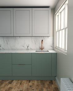 Home Decor Kitchen, Kitchen Decor, Kitchen Room Design, House Interior, Home Kitchens, Kitchen Layout, Modern Kitchen Design, Home Interior Design, Kitchen Design