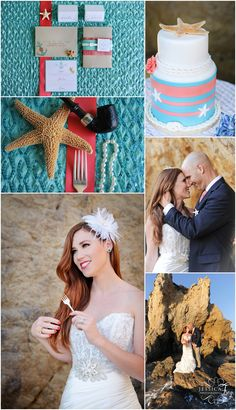 Little Mermaid wedding, Jessica Frey Photography, Teal and coral wedding, teal wedding ideas, nautical wedding, mermaid wedding, fairytale wedding, fairtytale wedding photographer