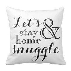 Let's Keep Residence and Snuggle Throw Pillow. *** See more by clicking the image link