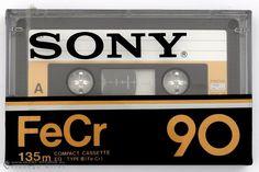 SONY FeCr 90