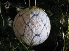 Smocked ornament photo