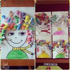 Kind Gifts: Creative Marathon – Challenge - Easy Crafts for All Kindergarten Art, Preschool Crafts, Crafts For Kids, Craft Kids, Easy Crafts, Projects For Kids, Diy For Kids, Art Projects, Teaching Art
