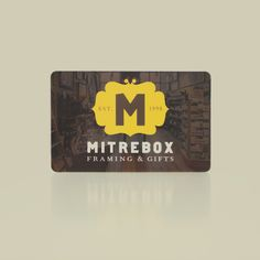 Everyone has something to frame - Mitrebox gift cards for sale online!