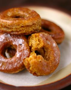 Cooking with C: Marley Coffee Pumpkin Gingerbread Donuts