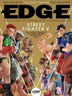 #Edge Magazine 289. Street Fighter V.