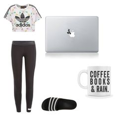 """""""lazy day"""" by rosalindaperez-c on Polyvore featuring adidas Originals, adidas and Vinyl Revolution"""