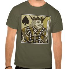 KING OF SPADES-LARGE T-SHIRT
