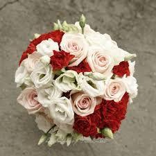 Znalezione obrazy dla zapytania bukiet ślubny czerwono-biały
