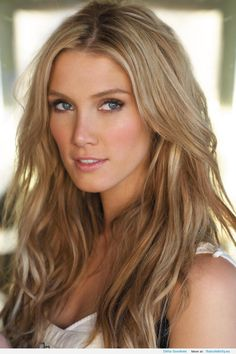 Delta Goodrem hair dark blonde- maybe a good one? Description from pinterest.com. I searched for this on bing.com/images