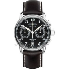 Mens Zeppelin LZ127 Graf Zeppelin Chronograph Watch 7678-2