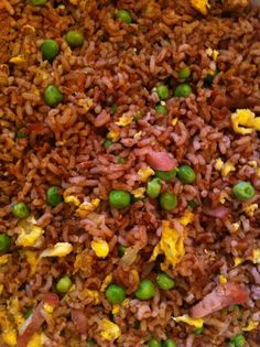 Madagascar Pink Fried Rice. Pink Rice is available at Whole Foods Market.