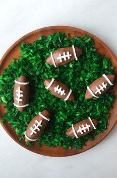 Nutella Chocolate Football Truffles