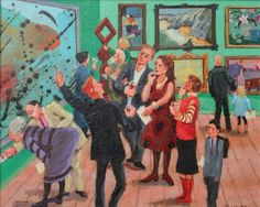 Vivienne LUXTON - At The Private View