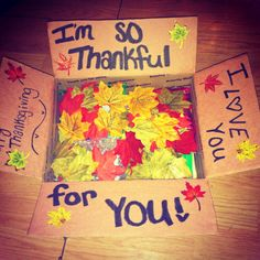 Fun for Grands Thanksgiving Care Paket Ideen Missionary Care Packages, Deployment Care Packages, Boyfriend Care Packages, Care Package Boyfriend, Care Package Ideas For Boyfriend Just Because, Deployment Gifts, Thanksgiving Care Package, Thanksgiving Gifts, Thanksgiving Letter