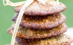 Cookies au pavot, citron et amandes par Julie Andrieu