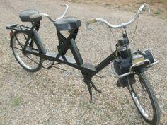 Motor-2-zamanlı 49-cm3-Courbevoie Fransa-Avrupa vélosolex-tandem tekerlekli moped.