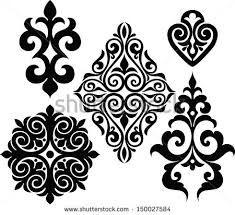 Afbeeldingsresultaat voor kazakh ornaments