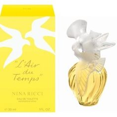 Nina Ricci L Air Du Temps EDT is my all time fav. Lovely Perfume, Best Perfume, Vintage Perfume Bottles, After Shave, Hair And Nails, Glass Art, Fragrances, Passion, White Doves