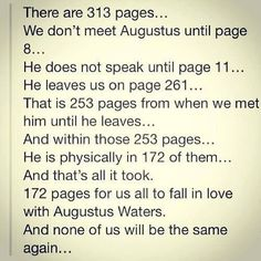 Augustus Waters The Fault in our Stars, John Green, amazing books. It only took 172 pages Star Quotes, Movie Quotes, Book Quotes, Book Memes, Jhon Green, Nos4a2, John Green Books, Tfios, The Fault In Our Stars