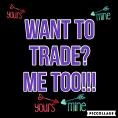 "WANT TO TRADE? LIKE IF YOU DO!!!  I'm looking to trade for XXS/XS, 0/23-24"" waist, handbags, jewelry, intimates, etc.! I have a closet of S-L, 2/27-31"" waist, handbags, jewelry, and more! Featuring a True Religions, 7 for all mankind, for love and lemons, coach, Kate spade, and more!  LIKE THIS IF YOU LIKE TO TRADE TOO!!!  Other"