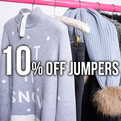 🎄 Use discount code 'COSYCHRISTMAS' for 10% off jumpers 🎄 #havetolove #jumpers #christmas #excited #25thdecember