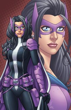 Huntress - the new 52 Helena Wayne . there was a few different Huntress costumes.  I want to make this one