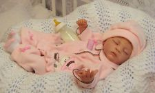 Adorable reborn baby girl Ashtin--Jo-- a Linda Murray craddle kit