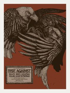 Rise Against - April 15 & 16, 2011  The Fillmore Auditorium - Denver, CO