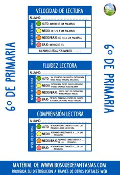 TARJETAS LECTURA 6 PRIMARIA Spanish Teaching Resources, Teachers Corner, School Items, Class Activities, Fourth Grade, Reading Comprehension, Language, Classroom, How To Plan