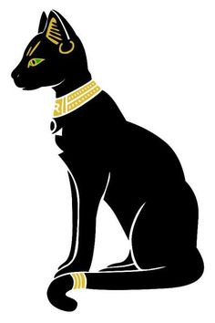 Bastet Egyptian cat (goddess)