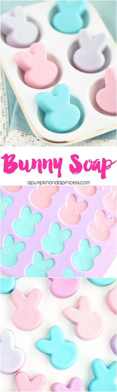 DIY Bunny Soap - The