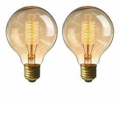 Úsporné LED, žiarovky a žiarivky s nízkou spotrebou energie Led, Light Bulb, Retro, Lighting, Vintage, Home Decor, Decoration Home, Room Decor, Light Globes