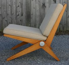 Le Corbusier Scissor Chair