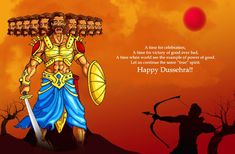 Happy Dussehra Wishes Messages Quotes with Images HD Wallpapers vijaya dashami message  quotes wishes