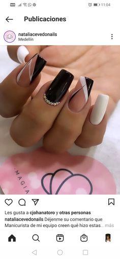 Beauty, Ideas, Fashion, Polish Nails, Decorations, Pretty Gel Nails, Short Nail Manicure, Nail Manicure, Long Acrylic Nails