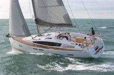 The New Jeanneau Sun Odyssey 41DS.