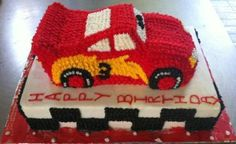 Cars Cake with Buttericing 1