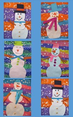 If you are search for december crafts for kids art projects you've come to the right place. We have 34 images about december crafts fo. Winter Art Projects, Winter Crafts For Kids, Winter Fun, Winter Theme, Projects For Kids, Art For Kids, Winter Ideas, Winter Snow, January Art