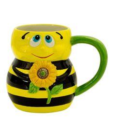 Happy Bumble Bee Mug