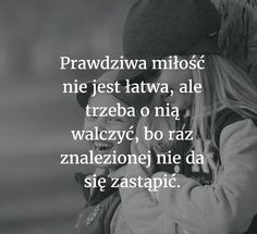 Obraz może zawierać: co najmniej jedna osoba i tekst Motto, Love Words, Cute Love, Love Story, Quotations, Crying, Love Quotes, Sad, Romantic