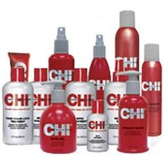 Nothing but Chi hair products will work for me.  The fact that they all smell good are just a bonus!
